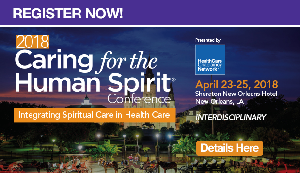 2018 Caring for the Human Spirit Conference