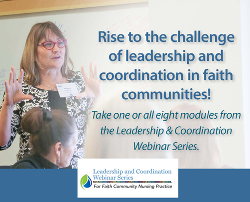 Leadership and Coordination Webinar